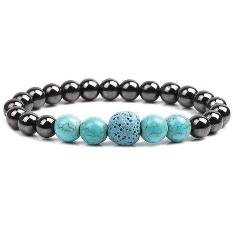 Unisex Handmade Turquoise Bracelets & Bangles YL190422118611's discount tags