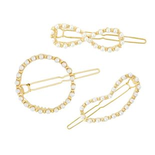 Womens geometric plating alloy Minimalist geometric circle Hair Accessories HN190422118618's discount tags