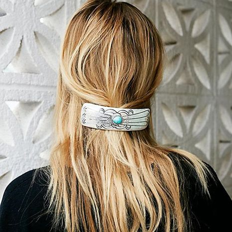 Womens geometric plating alloy Hair Accessories HN190422118626's discount tags