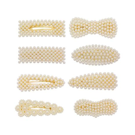 Womens geometric plating alloy Hair Accessories HN190422118630's discount tags