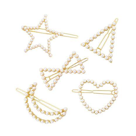 Womens geometric plating alloy Fashion Hair Accessories HN190422118632's discount tags