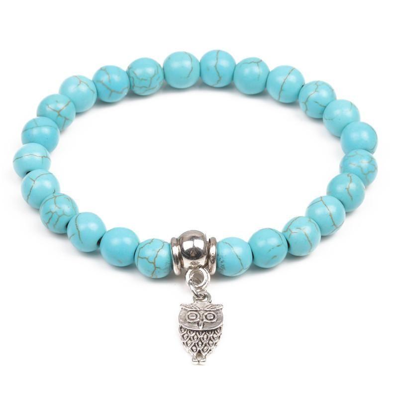 Unisex Animal / Zodiac Handmade Natural Stone Bracelets & Bangles YL190422118637