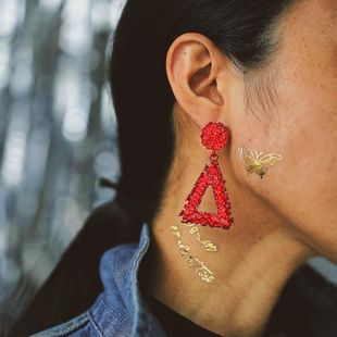 Unisex Geometric Baking Creative exaggerated punk style Alloy Earrings PJ190422118654's discount tags
