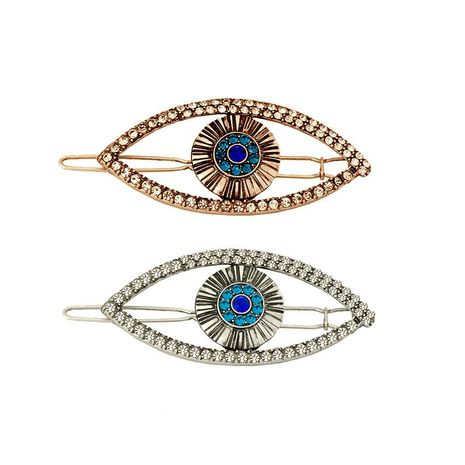 Womens Eye Plating Alloy Vintage rhinestone alloy Hair Accessories HN190422118661's discount tags