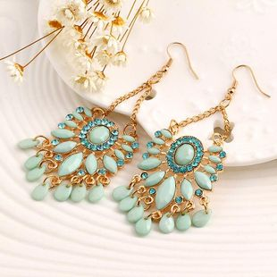 Womens Star Alloy Personality National style Earrings PJ190422118681's discount tags