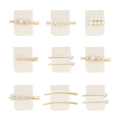 Womens geometric plating alloy Hair Accessories HN190422118692's discount tags