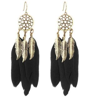 Womens Leaf Plating Alloy Other Earrings PJ190422118707's discount tags