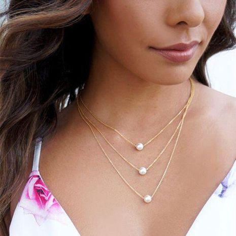 Womens geometric plating alloy other Necklaces PJ190422118717's discount tags