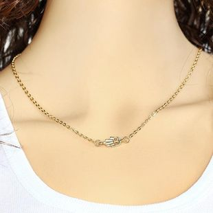 Womens alloy  Stylish simplicity Necklaces PJ190422118726's discount tags