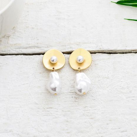 Womens Geometry Electroplating Alloy Earrings QS190422118739's discount tags