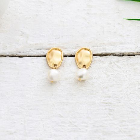 Womens Geometry Electroplating  Fashion Alloy Earrings QS190422118742's discount tags