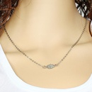 Womens alloy  Stylish simplicity Necklaces PJ190422118726
