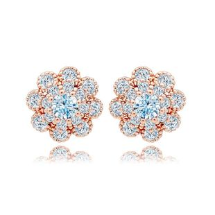 Womens Floral Plating Other Delicate flowers  Earrings TM190423118885's discount tags