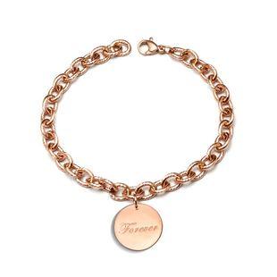 Womens Geometric Titanium Steel Bracelets & Bangles OK190423118942's discount tags