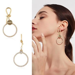 Womens Electroplating Alloy Earrings KQ190423118956's discount tags