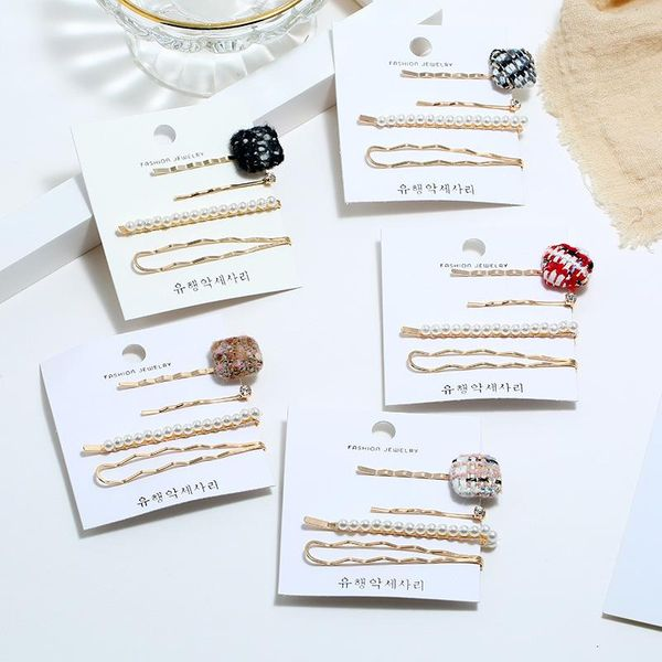 Womens Geometric Handmade Metal Hair Accessories KQ190423118976