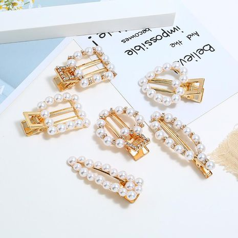 Womens Geometric Handmade Metal Hair Accessories KQ190423118977's discount tags