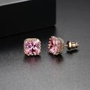 Womens Geometric Copper Plated Alloy Soul Earrings TM190423118889