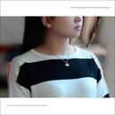 Womens cartoon character titanium steel Necklaces OK190423118930