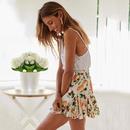 Hot new sling halter shirt white shirt summer women s clothing DF190425119121
