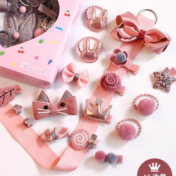 Childrens fabric Hair Accessories OF190426119305