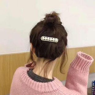 Womens Geometric Plated Beads Hair Accessories YQ190426119409's discount tags