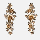 Womens Floral Plating Floral luxury  Alloy Earrings LL190426119521