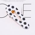 NHOF33597-Black-dot-oval-hair-clip