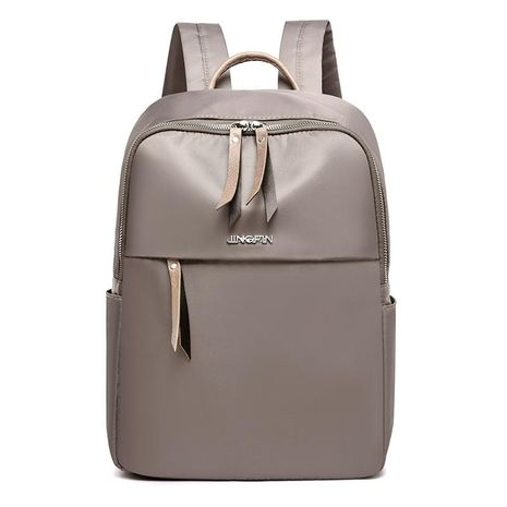 New large-capacity solid color simple travel backpack XC190427119553's discount tags