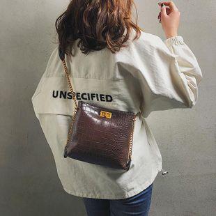 Vintage crocodile lock shoulder bag XC190427119584's discount tags