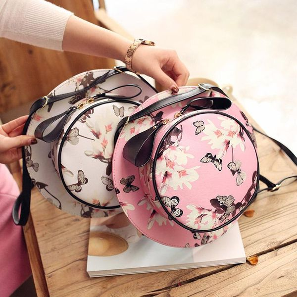 Explosive butterfly love flower hat backpack XC190427119594