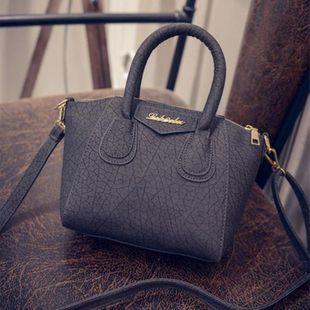 PU Burst crack smiley bag handbag XC190427119611's discount tags