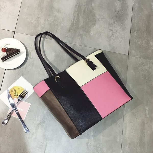 PU Fashion metal shoulder bag XC190427119618