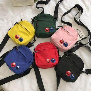Retro cartoon cute messenger bag HX190427119648's discount tags