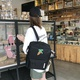 Multifunctional fruit embroidered shoulder diagonal backpack XC190427119554