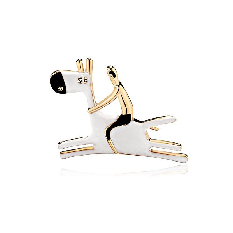 Womens Animal Drip Alloy Brooches DR190429119771
