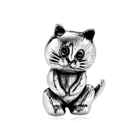 Broches de aleación de diamantes de chapado de animales para mujer DR190429119783's discount tags