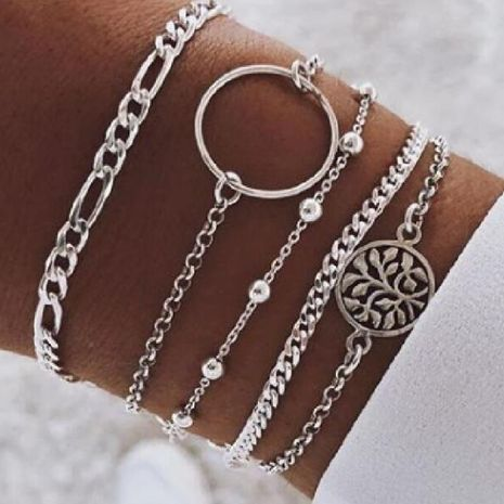 Womens Alloy  Fashion popular creative round beads tassel Bracelets & Bangles GY190429119818's discount tags
