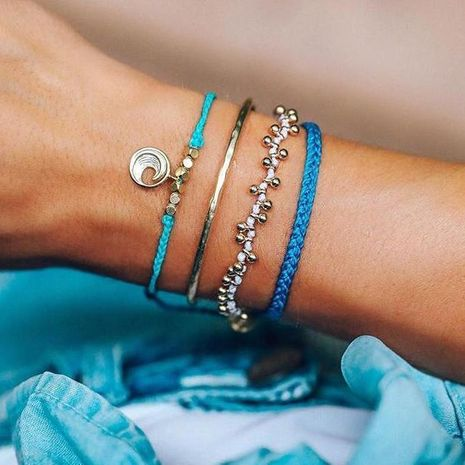 Unisex geometry plating alloy Bracelets & Bangles GY190429119825's discount tags