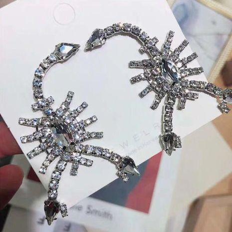 Womens Scorpion Rhinestone  Acrylic Earrings JE190429119856's discount tags
