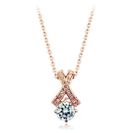 Womens geometric plating alloy other Necklaces LJ190429119865's discount tags
