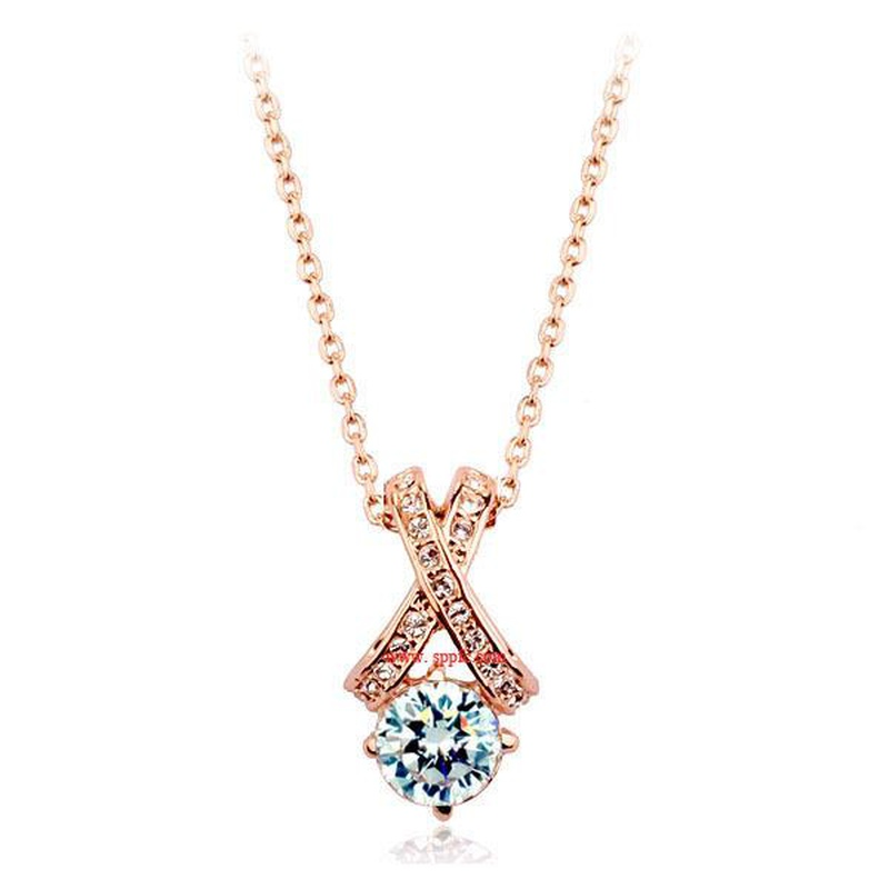 Womens geometric plating alloy other Necklaces LJ190429119865
