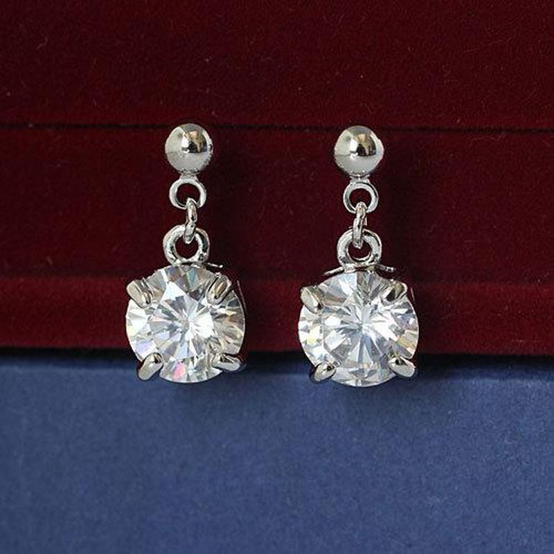 Womens Geometry Electroplating Alloy Regent Earrings LJ190429119866