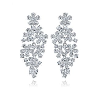 Womens Rhinestone Electroplated Copper Inlay Zircons earring TM190429119909's discount tags