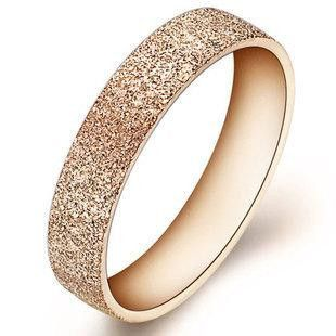 Womens geometric rhinestone-studded titanium steel Rings OP190429119913's discount tags