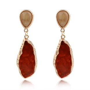 Womens Geometric Plastic Sexual exaggeration  Resin Earrings GO190430120012's discount tags