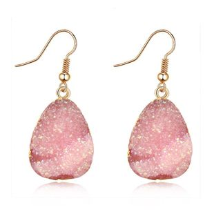 Womens Geometric Simple and simple imitation natural stone  Earrings GO190430120017's discount tags