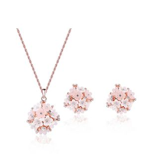 Womens electroplating  Fashion versatile alloy Jewelry Set  XS190430120081's discount tags