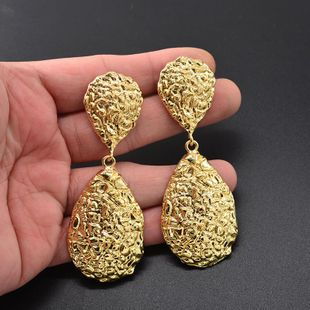 Womens Geometry Electroplating Alloy Earrings NT190430120089's discount tags