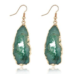 Womens Irregular Plastic  Irregular hollow  Resin Earrings GO190430120114's discount tags